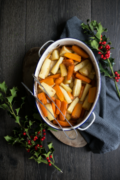 Honey Glazed Carrots & Parsnips