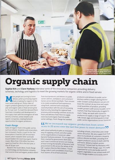 Organic Farming Magazine - Winter 2019