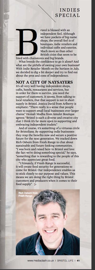 The Indie City, Bristol Life