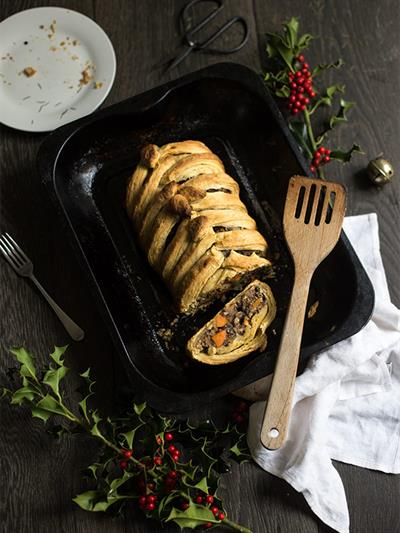 Vegetarian Christmas Wellington