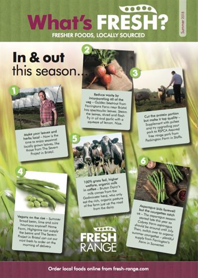 Fresh-range Summer Newsletter