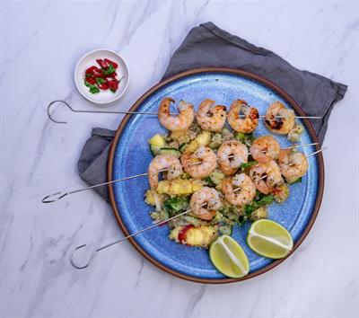 BBQ Prawns With Mango Salsa Collection