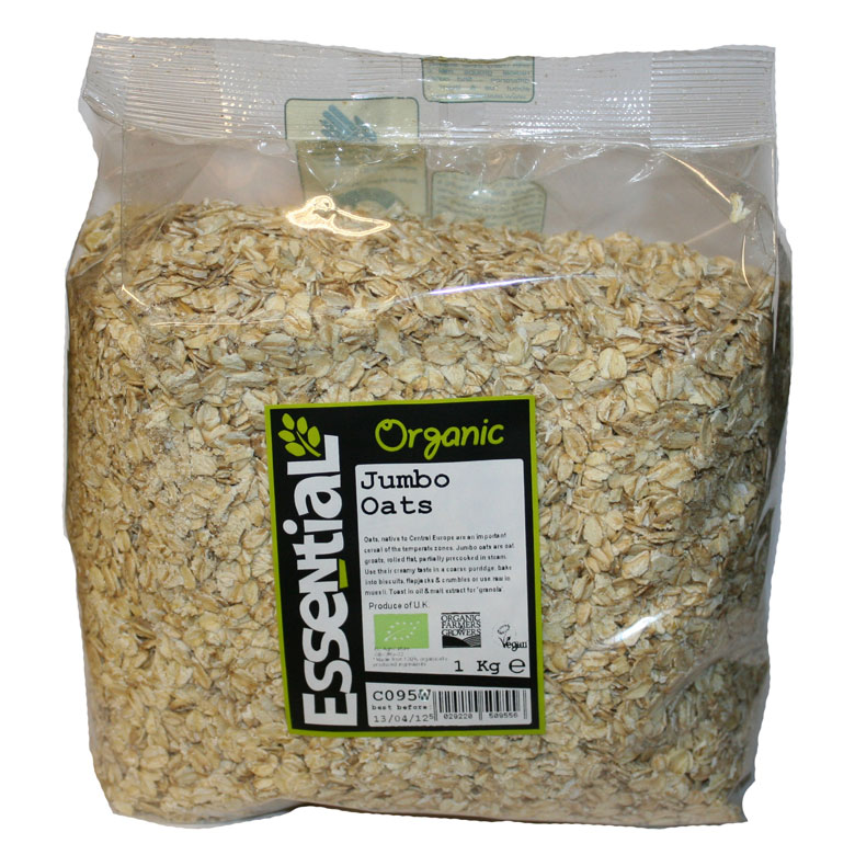 Organic Jumbo Porridge Oats Essential Trading Co-operative